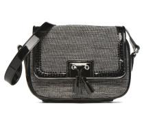 AMELINE Porté travers cuir et textile Handtaschen für Taschen in schwarz