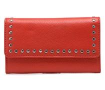 Portefeuille Clouté Portemonnaies & Clutches für Taschen in rot