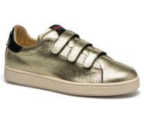J.Connors Velcro Sneaker in goldinbronze