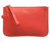 Pochette Floppy Mousqueton Portemonnaies & Clutches für Taschen in rot