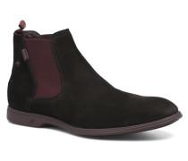 Huellas 8841 Stiefeletten & Boots in schwarz