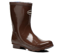 Helios Mid Rain Boots Stiefeletten & in braun