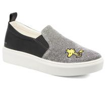 Snoopy Elda sleep on Sneaker in grau