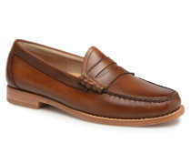 WEEJUN Larson Burnish Slipper in braun
