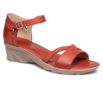 Paorla mohair gire Sandalen in rot