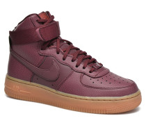 Wmns Air Force 1 Hi Se Sneaker in weinrot