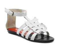 Leskelet Sandalen in weiß