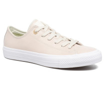 Chuck Taylor All Star II Ox Craft Leather Sneaker in beige