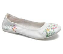 Kayla 4 Ballerinas in weiß