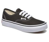 Authentic E Sneaker in schwarz