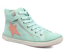 Saskia Suede Sneaker in grün