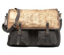 Maxi Maths Toile & Cuir Handtaschen für Taschen in grau