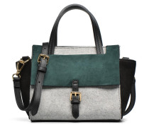 Crossbody Meya Bicolore Handtasche in grau