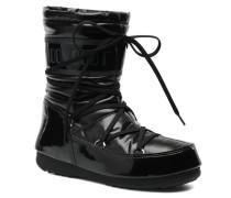 Soft Mid Stiefeletten & Boots in schwarz