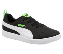 Inf Courtflex in Ps Sneaker schwarz