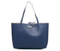 Bobbi Inside Out Tote Handtasche in blau