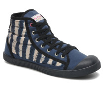 Samba Up Stripes Sneaker in blau