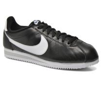 Classic Cortez Prem Sneaker in schwarz