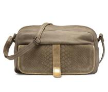 Isabella Leather Crossbody Handtasche in grün