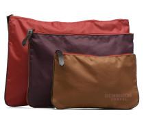 Zipped pocket Mini Bags für Taschen in mehrfarbig