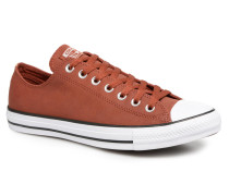 Chuck Taylor All Star Fashion Leather Ox Sneaker in weinrot