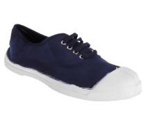 Tennis Lacets Sneaker in blau