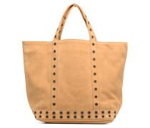 Cabas Suede Œillets M Handtaschen für Taschen in beige