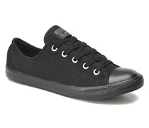 All Star Dainty Canvas Ox W Sneaker in schwarz