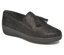 Tassel Superskate Slipper in schwarz