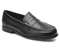 Classic Loafer Penny Slipper in schwarz