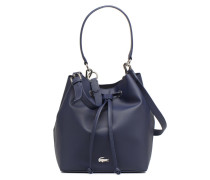 BUCKET BAG Handtasche in blau