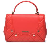 Quilted and peeble crossbody M Handtaschen für Taschen in rot