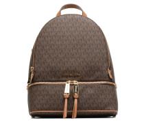 RHEA ZIP MD Backpack Rucksack in braun