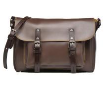 Gibecière bicolore Handtaschen für Taschen in braun