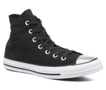 Chuck Taylor All Star Hi Metallic Toecap Sneaker in schwarz