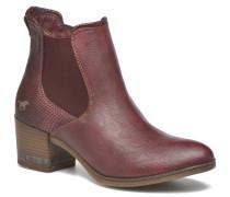 Mustea Stiefeletten & Boots in weinrot