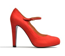 Flore Thirties #13 Pumps in rot