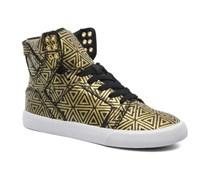 SALE - 30%. Supra - Skytop w - Sneaker für Damen / gold/bronze