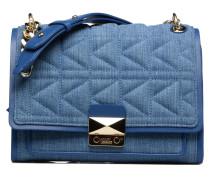 Kuilted Denim Handbag Handtaschen für Taschen in blau