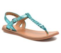 Plagette Antic Tong Sandalen in blau
