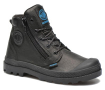 Hi Cuff Wp K Stiefeletten & Boots in schwarz