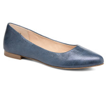 Vinyle Ballerinas in blau