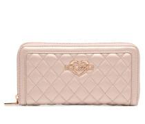 Portefeuille Super Quilted Portemonnaies & Clutches für Taschen in silber