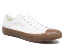 Chuck Taylor All Star II Ox Tencel Canvas Sneaker in weiß
