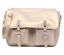 Mini Maths Cuir Handtaschen für Taschen in goldinbronze