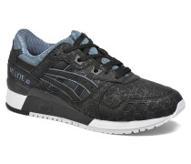GelLyte III W Sneaker in schwarz
