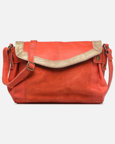 ISAURA LEATHER SMALL CROSSBODY Handtasche in rosa