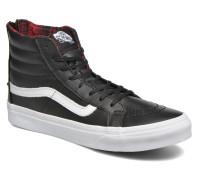 SK8Hi Slim Zip Sneaker in schwarz