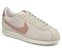 W Classic Cortez Leather Lux Sneaker in weiß