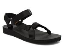 Original universal W Sandalen in schwarz